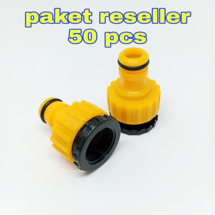Foto Produk Connector Konektor Adapter Kran Magic Hose paket 50pcs dari GG outlet