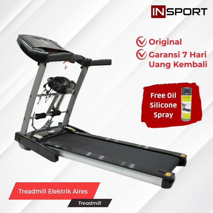 Foto Produk Treadmill Alat Fitness Alat Gym Treadmill Elektrik Alat Fitnes IS-I8 dari INSPORT'S