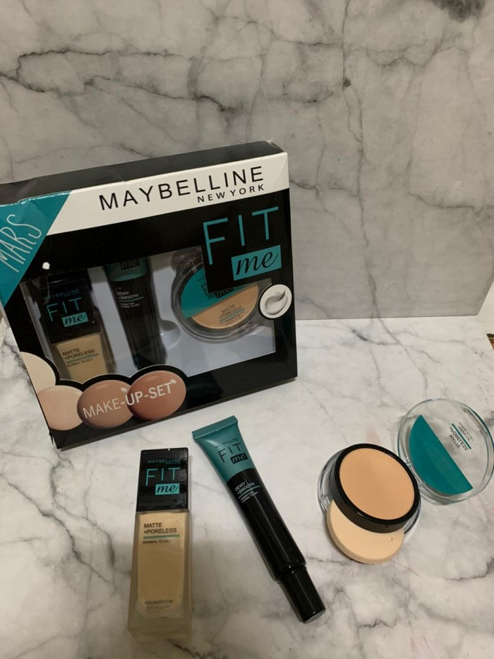 Foto Produk MAYBELLINE FIT ME 3in1 MARS MAKE UP SET (BEDAK+FOUNDATION+CONCEALER) dari startled.id
