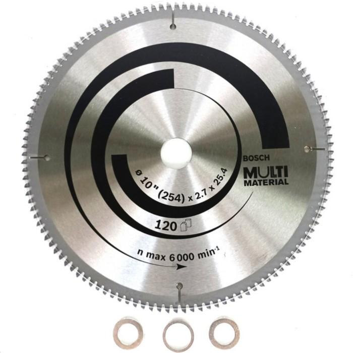 Jual Mata Gergaji Bosch Multi Material Aluminium 10 X 2 7 X 25 4 120t Jakarta Timur B119 Top Tokopedia