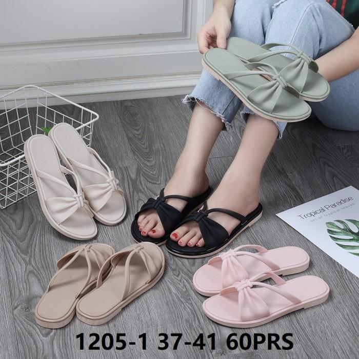 Foto Produk Jelly Shoes Premium Simple Sling - Sepatu sandal karet Import murah dari Gracia OS