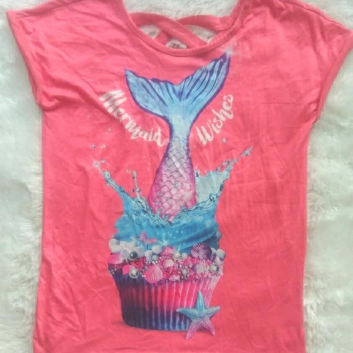 Foto Produk Baju kaos anak branded Justice mermaid wishes 8 T dari Galeri Ona