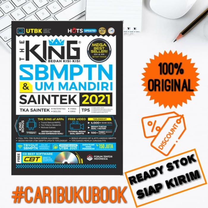 Jual Buku Sbmptn 2021 The King Sbmptn Um Mandiri Saintek 2021 Kab Sleman Cari Buku Book Tokopedia