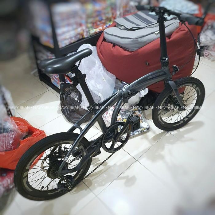 Jual 2nd Sepeda Lipat Pacific Noris 2 0 20inch Dark Grey Modif Ringan Jakarta Barat Navy Bear Tokopedia