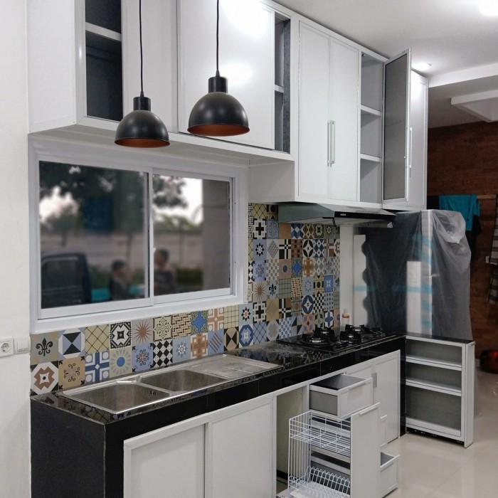 Jual Kitchen Set Aluminium Kota Tangerang Selatan P99 Alumunium Tokopedia