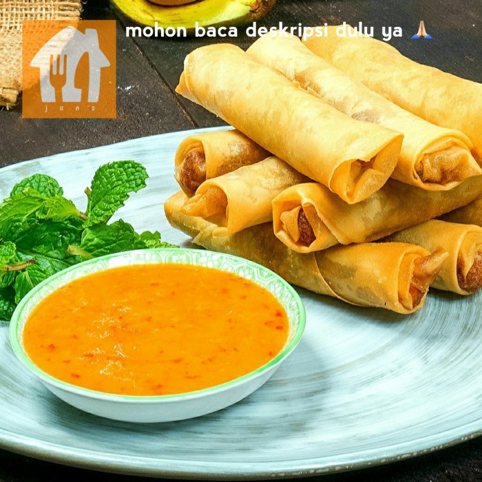 Foto Produk LUMPIA, frozen 10 pcs dari JUNO fresh and frozen food