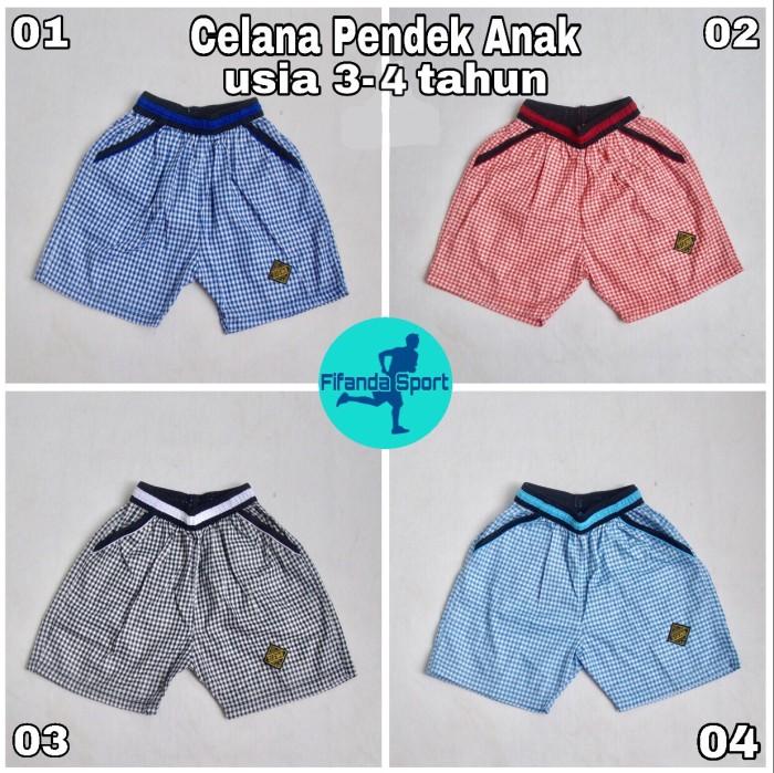 Foto Produk Celana Pendek/Kolor Anak Laki2/Perempuan motif kotak dari Fifanda Sport