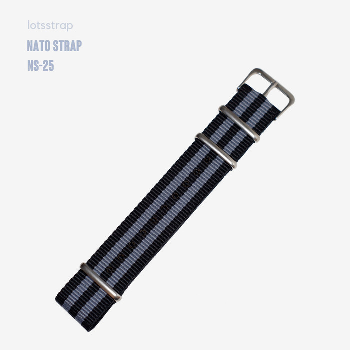 Foto Produk Tali Jam Tangan Nato Strap Spectre James Bond - 18mm dari Lot's