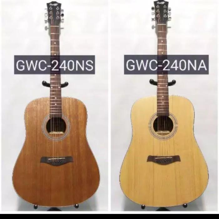 Foto Produk Gitar Akustik String Cowboy GW-240NA NS ORIGINAL BONUS LENGKAP dari JakartaUndercover.id