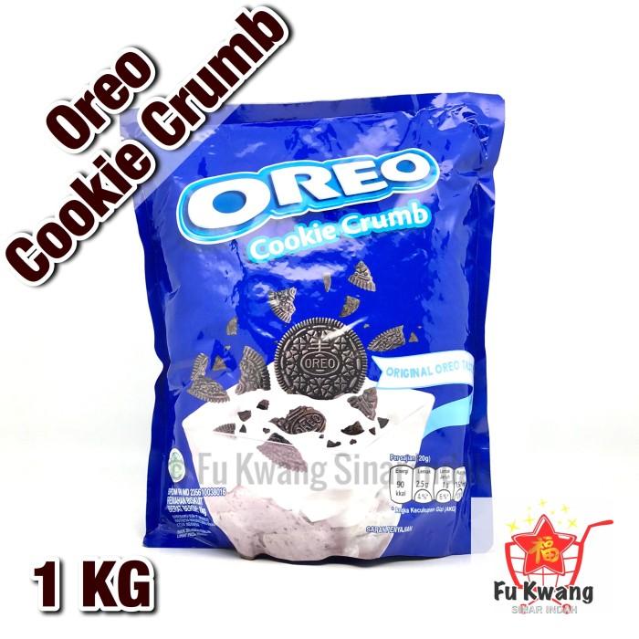 Foto Produk Oreo Cookie Crumb Bubuk Kasar 1 kg dari Fu Kwang Mart