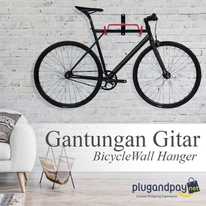 Foto Produk Bicycle Wall Hanger Gantungan Sepeda di Tembok dari plugandpay