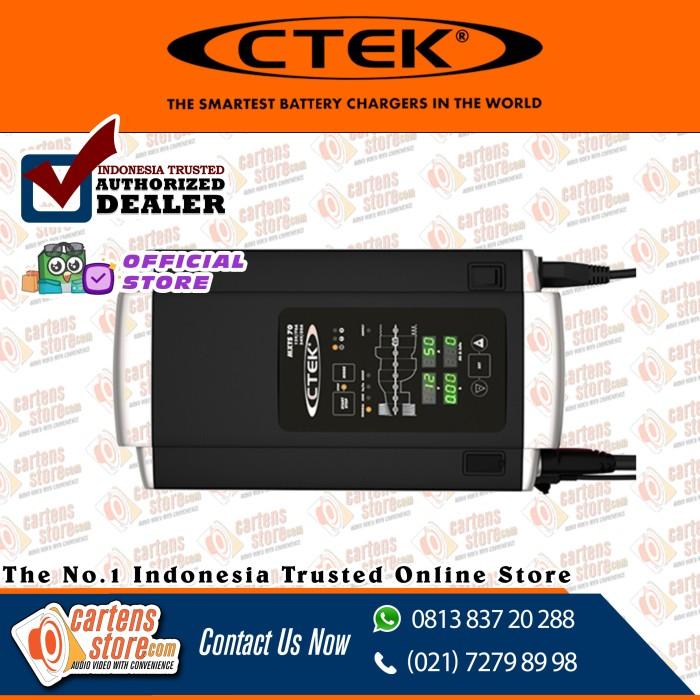 Foto Produk CTEK MXTS 70/50 EU-J by Cartens Audio dari Cartens Store