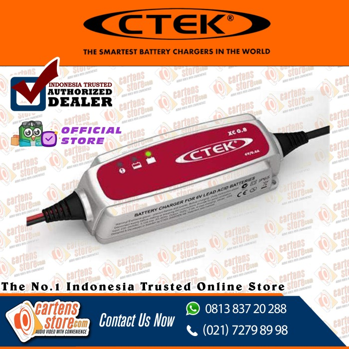 Foto Produk CTEK XC0.8 by Cartens Audio dari Cartens Store