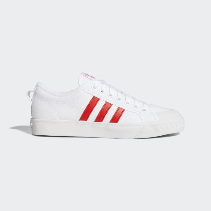 Foto Produk ADIDAS NIZZA - CLOUD WHITE/LUSH RED - 7 dari Nelsons Footwear