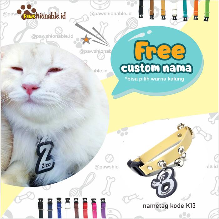 Jual K13 Kalung Custom Nama Kucing Anjing Free Lonceng Inisial Huruf S Kab Nganjuk Kalungkucing Tokopedia