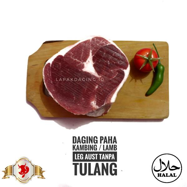 Foto Produk Daging Paha Kambing | Lamb Leg Aus Tanpa Tulang 500gram dari PD. BERKAH JAYA MEAT 88