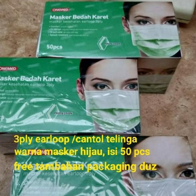 Foto Produk Onemed Masker Earloop Terbaru Bersegel dari REJODADI1