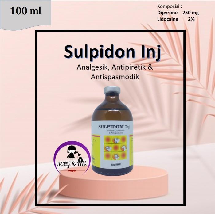 Foto Produk SULPIDON 100 ml OBAT ANALGESIK, ANTISPASMODIK DAN ANTIPIRETIK dari KITTY & ME