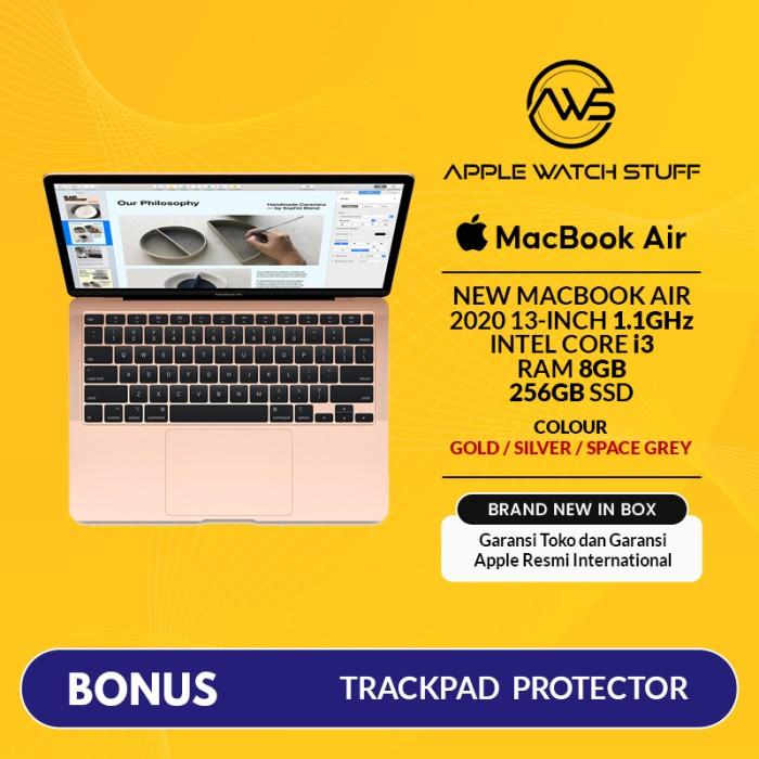 Foto Produk New Macbook Air 2020 13 Inch 1.1GHz Dual-Core i3 256GB SSD Touch ID - Space Grey dari applewatchstuff