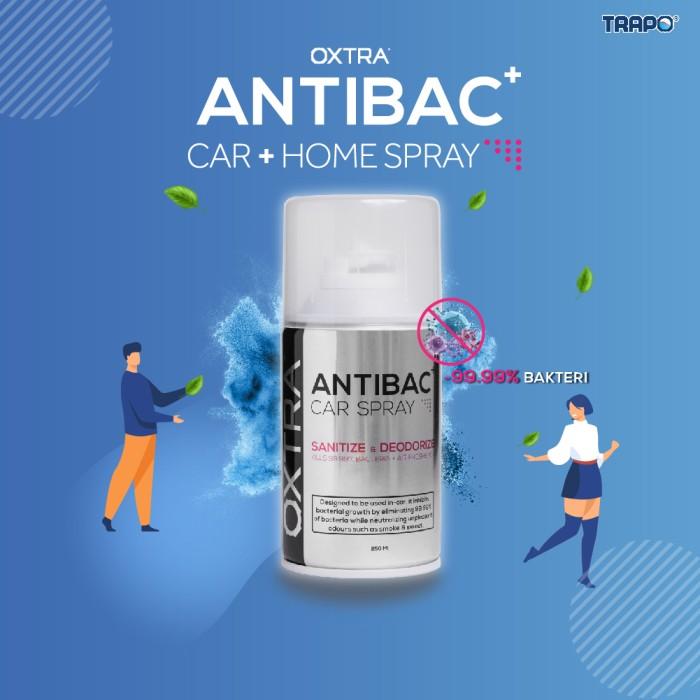 Foto Produk Trapo Oxtra Antibac Car Spray Bunuh 99.9% Virus dan Bakteri -Amazonite dari Trapo Indonesia