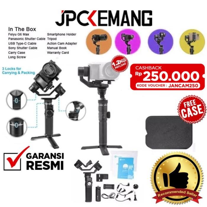 Foto Produk Feiyu G6 Max 3-Axis Handheld Gimbal Stabilizer 3-in-1 GARANSI RESMI dari JPCKemang
