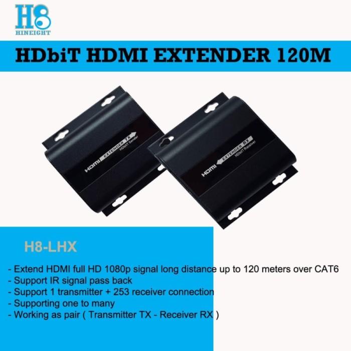 HDbitT HDMI Extender Over IP 120M (HINEIGHT(H8))