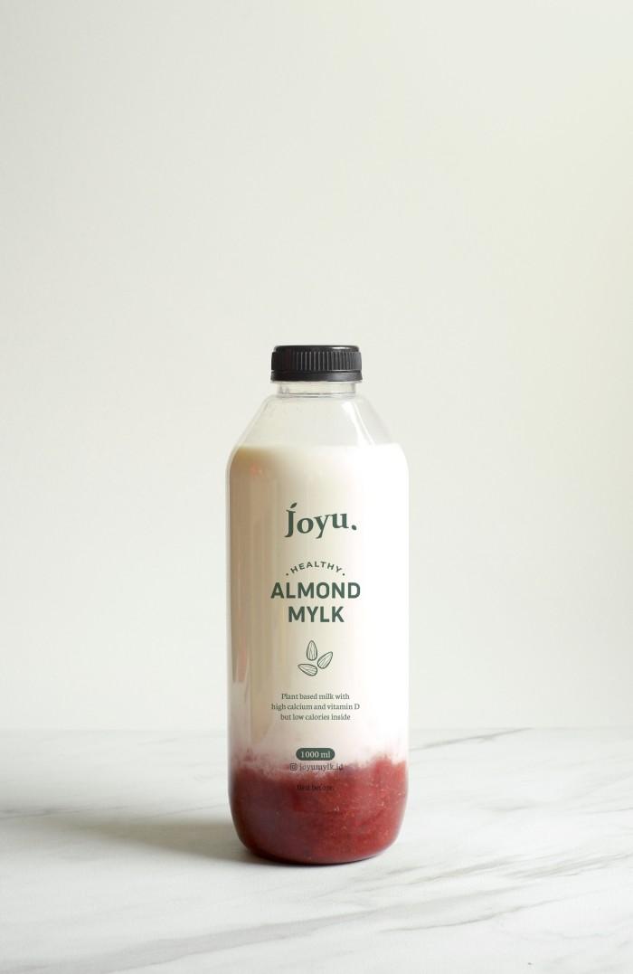 Susu Almond Milk Asi Booster Joyu – Ichigo 1 L / 500 ml