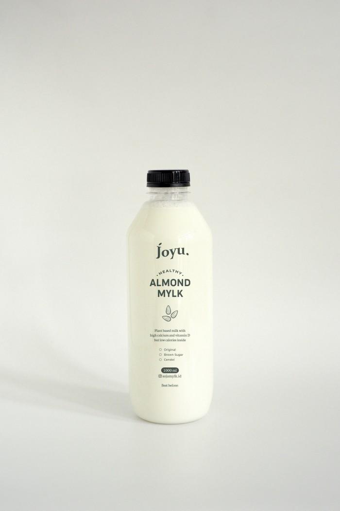 Susu Almond Milk Joyu – Ori 1 Liter / 500 mL | Asi Booster | Diet
