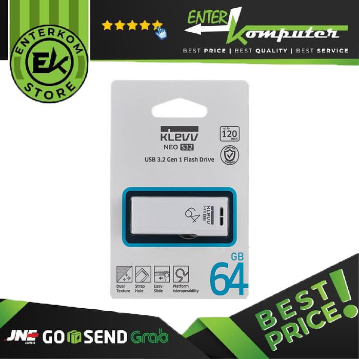 KLEVV NEO S32 64GB - USB 3.2 Gen 1 - K064GUSB4-S3