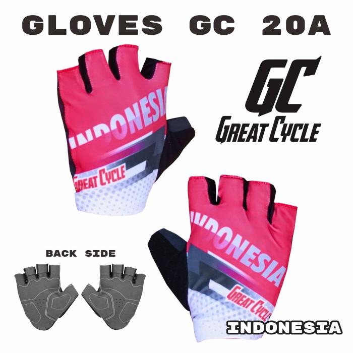 Gloves sarung tangan sepeda Great Cycle