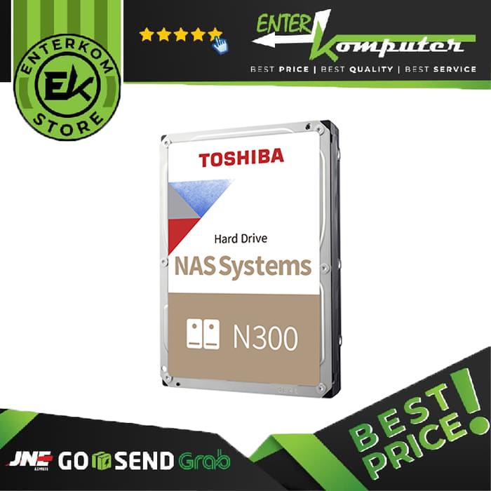 Toshiba 4TB SATA3 7200RPM For NAS - N300 Series