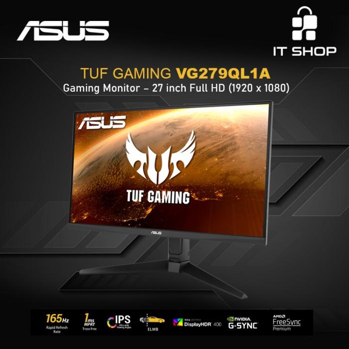 Asus Monitor TUF Gaming VG279QL1A – 27 inch Full HD Image
