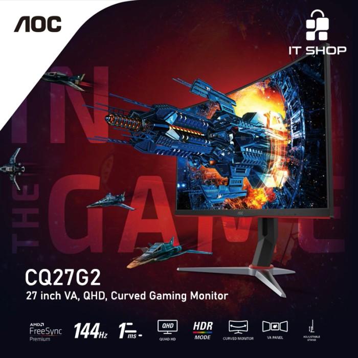 AOC Curve Gaming Monitor CQ27G2 Image
