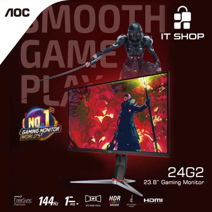 AOC 24G2 Monitor Gaming Image