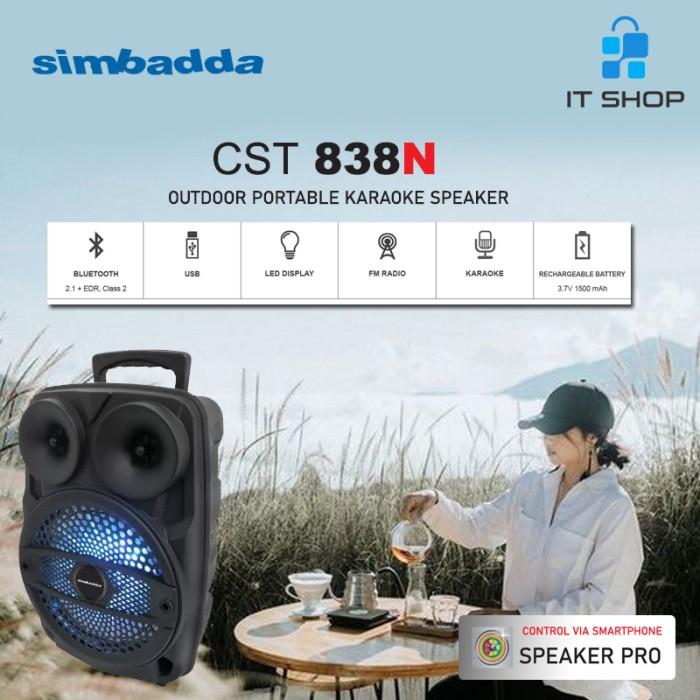 Simbadda Portable Karaoke Speaker CST 838N Image