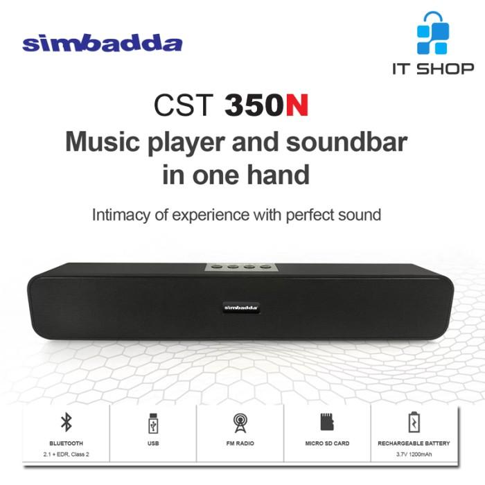 Simbadda Portable Music Player CST 350N Sound Play Image