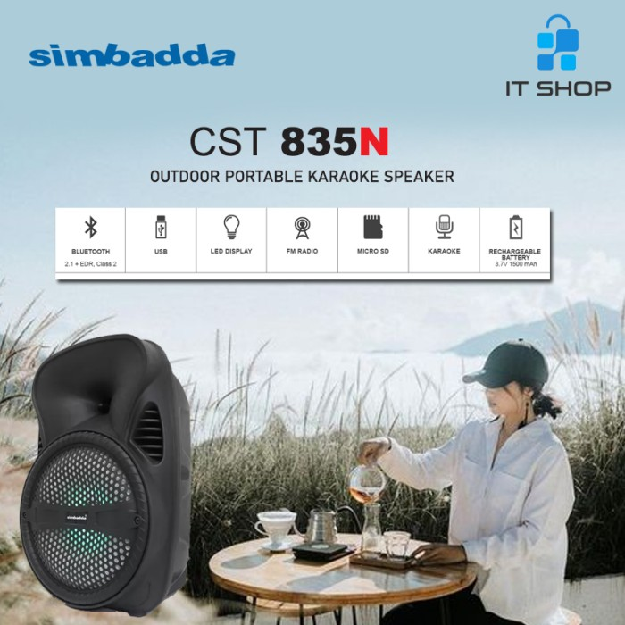 Simbadda Portable Karaoke Speaker CST 835N Image
