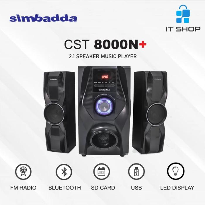 Simbadda Speaker CST 8000N+ Image