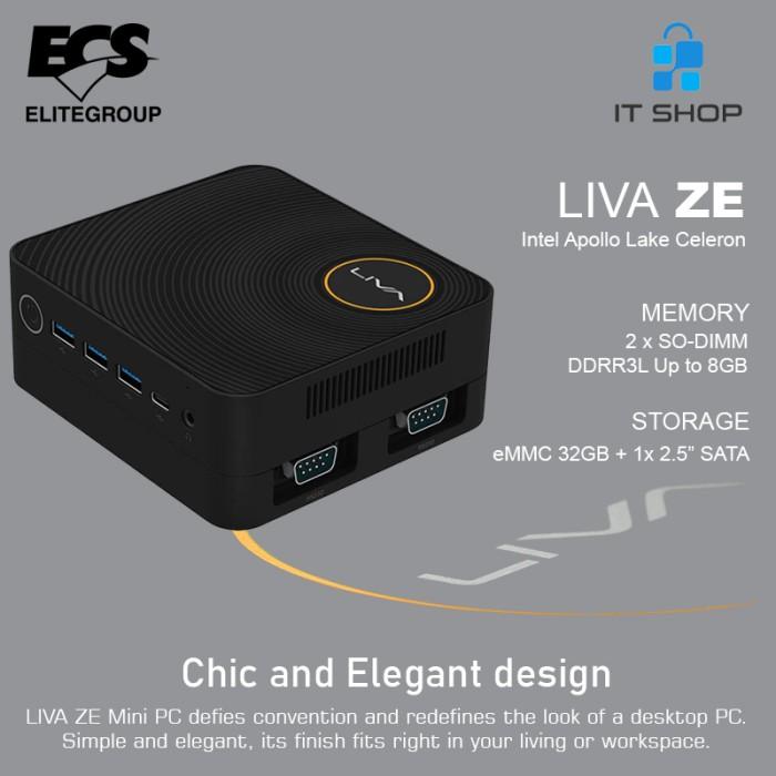 ECS Mini PC Intel LIVA ZE Image