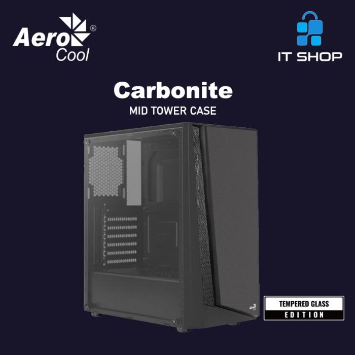 Aerocool Casing CARBONITE Image