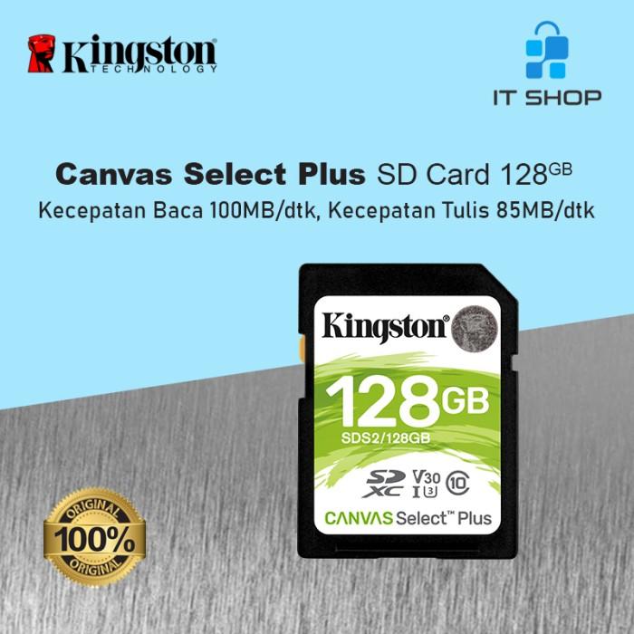 Kingston Canvas Select Plus SD Card - 128GB Image