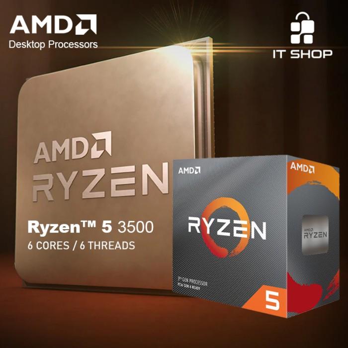 AMD AM4 RYZEN 5 3500 BOX WRAITH COOLER Image