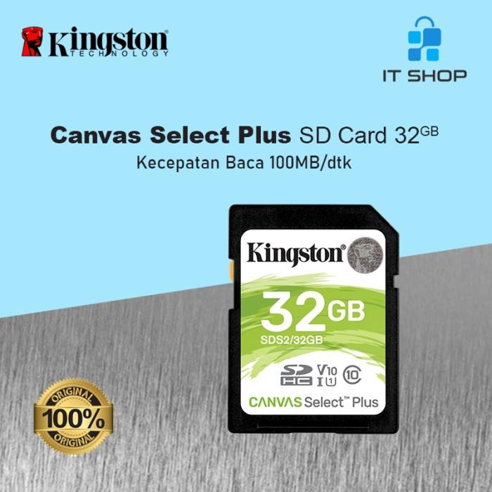 Kingston Canvas Select Plus SD Card - 32GB Image