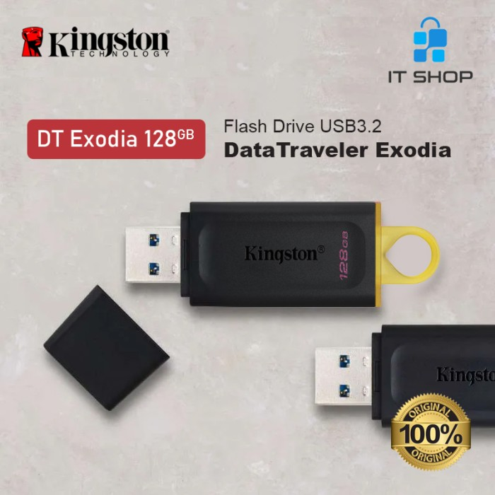 Kingston DT EXODIA 128GB USB Flash Disk Image