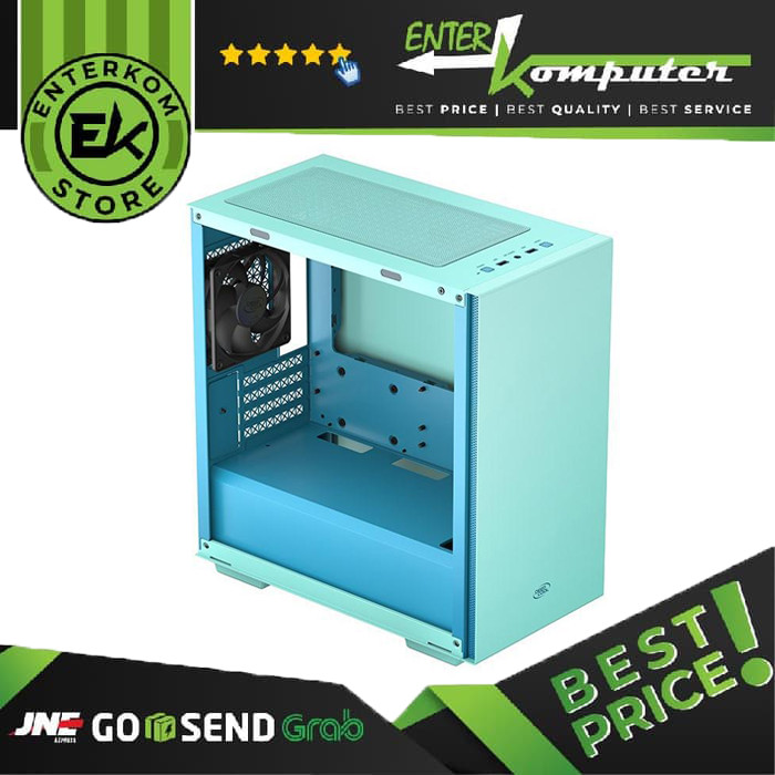 Deepcool Macube 110 Green - Tempered Glass
