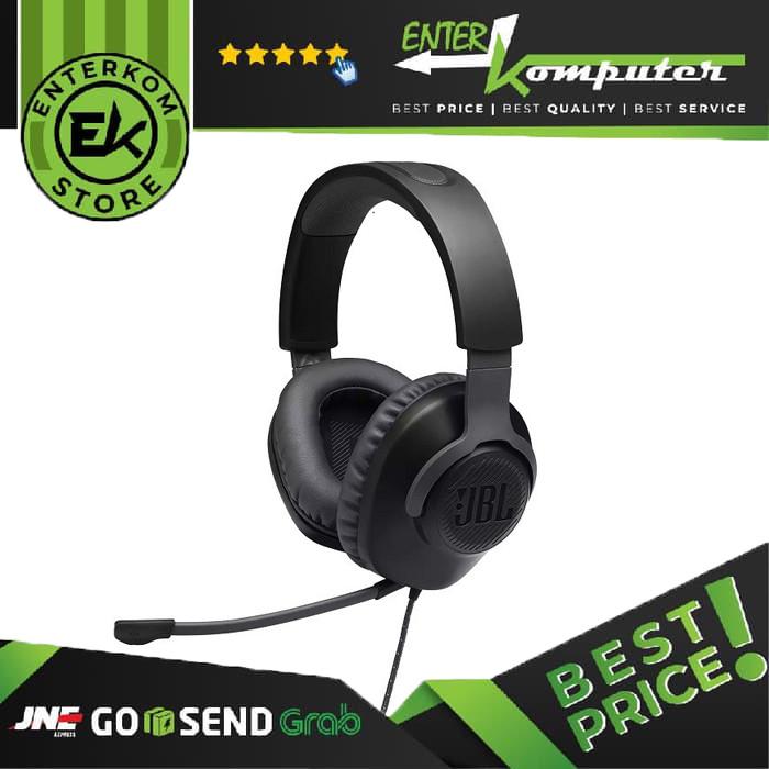JBL Quantum 100 Black Gaming Headset