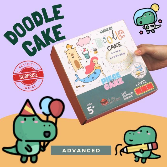 Round Cake Baking Kit Piece of Cake Permainan Interaktif Mainan Anak