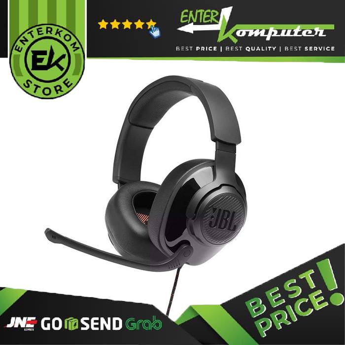 JBL Quantum 300 Black Gaming Headset