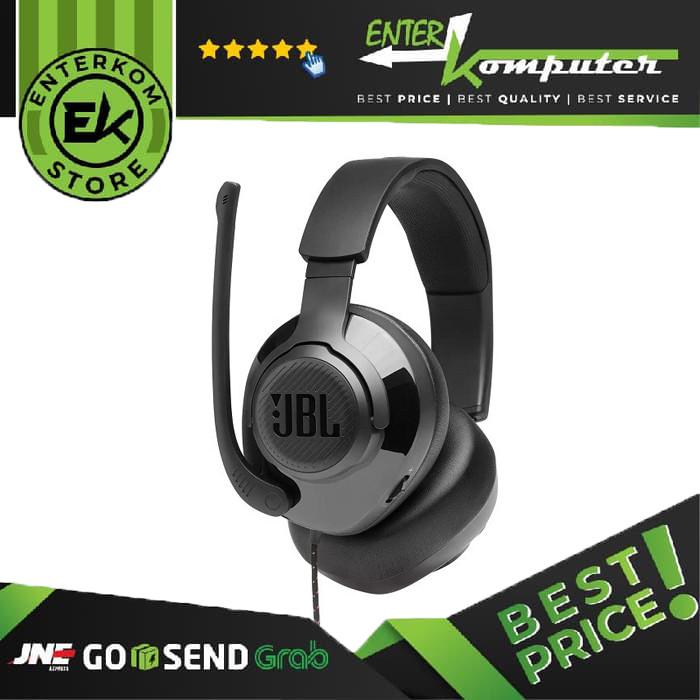 JBL Quantum 200 Black Gaming Headset