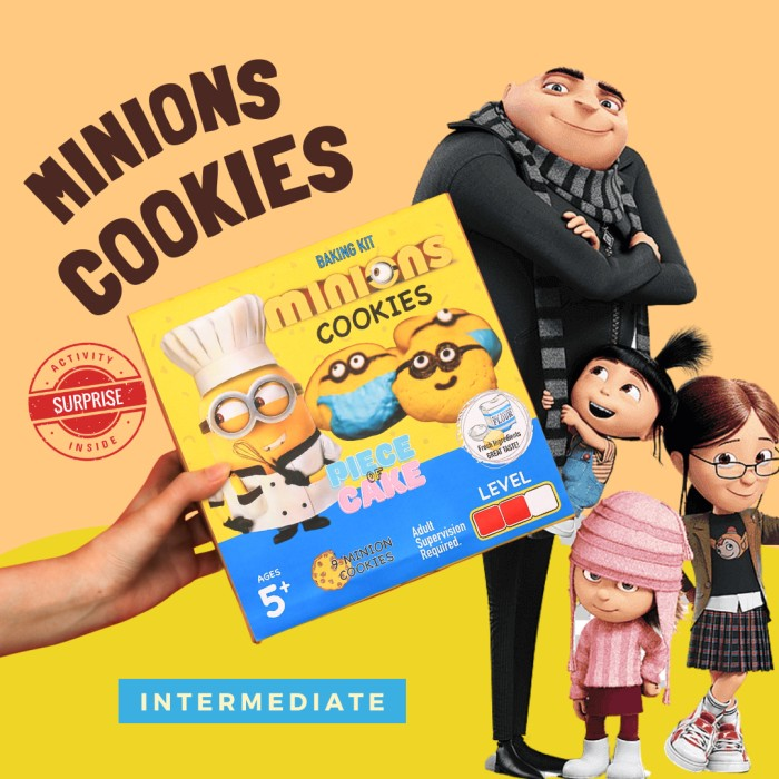 Cookies Baking Kit Piece of Cake Permainan Interaktif Mainan Anak